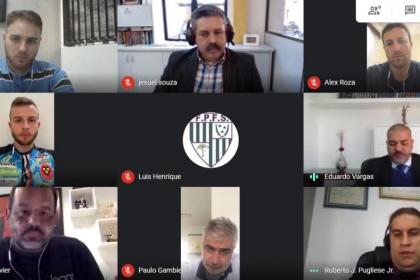 ABAFS e ABTFS juntas em reunião com a Federação Paranaense de Futebol de Salão